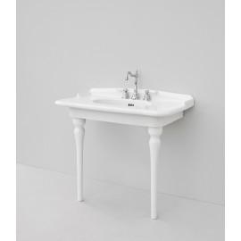 Lavabo sospeso o da appoggio consolle 92cm ART CERAM serie Hermitage