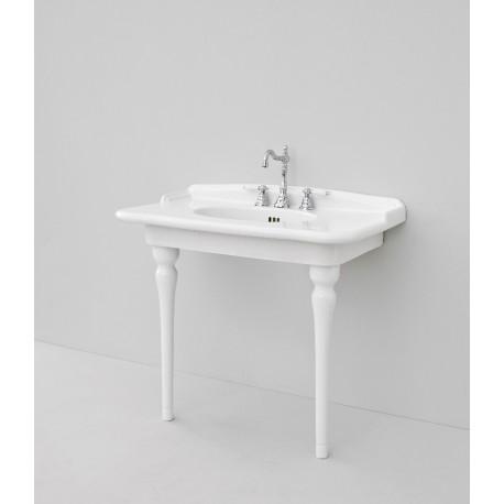 HERMITAGE lavabo sospeso o da appoggio 92cm
