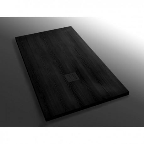 Piatto doccia rettangolare Wood nero modello HLLPDR4WN ...