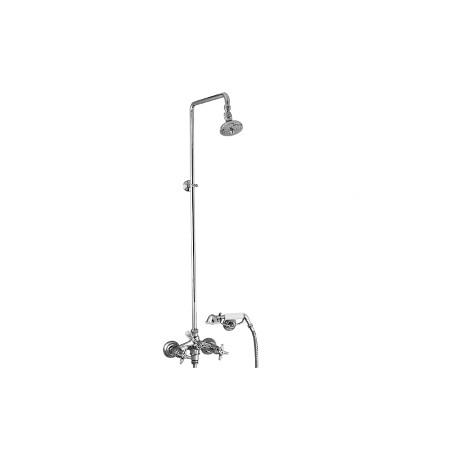 Rubinetto doccia 2 maniglie esterno STELLA 3284/33-140 serie Italica