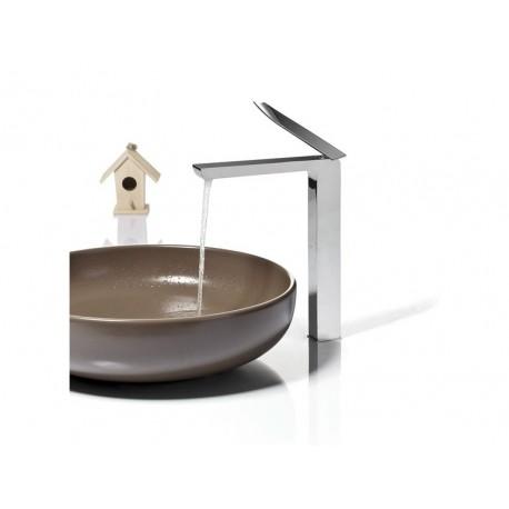 Rubinetto lavabo monoleva alto RITMONIO serie Tweet
