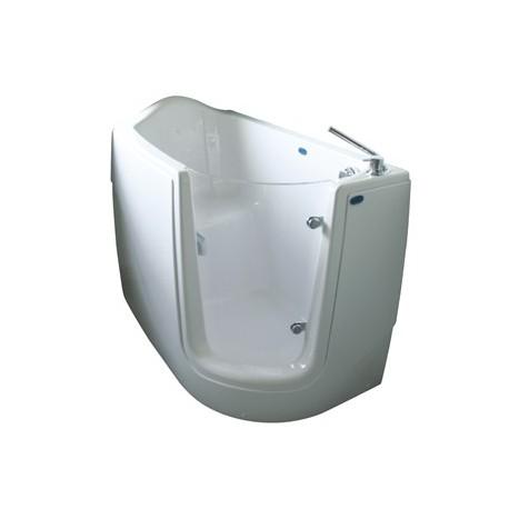 Vasca terza età idromassaggio con seduta e porta laterale CIVITA CROMO HH 601 VISX