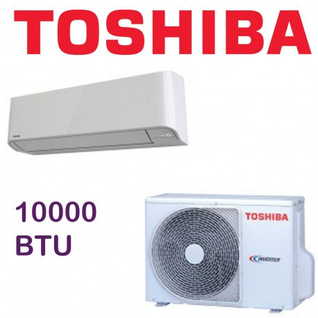CLIMATIZZATORE CONDIZIONATORE TOSHIBA MIRAI R-32 INVERTER 10000 btu RAS-10BKVG-E A+